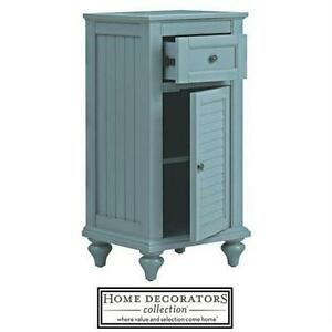 "NEW* HDC HAMILTON 35"" LINEN STORAGE HOME DECORATORS COLLECTION- LINEN STORAGE CABINET - SEA GRASS - FURNITURE DECOR"