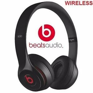 REFURB BEATS SOLO2 HEADPHONES   WIRELESS - ON EAR SOUND ISOLATING BLUETOOTH HEADPHONES SOLO 2 S AUDIO EARPHONES 97490424