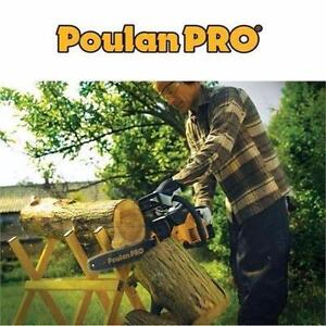 """NEW POULAN PRO 18"""" CHAINSAW 42CC   Poulan Pro 42cc / 18-in Gas Chainsaw OUTDOOR POWER TOOLS EQUIPMENT  85735276"""