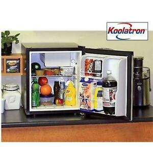 NEW KOOLATRON MINI FRIDGE 1.7 CU FT BC-46SS 213298460 COMPACT THERMOELECTRIC REFRIGERATOR STAINLESS STEEL