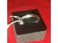Silver ring size U