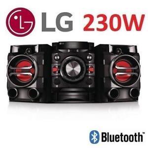 OB LG HI-FI ENTERTAINMENT SYSTEM CM4360 215209566 BLUETOOTH 230W MUSIC SOUND