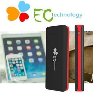 NEW ECT PORTABLE POWERBANK 22400mAh EC Technology 2nd Gen Ultra Capacity Portable Power Bank USB Device Charger 81241875