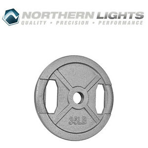 Northern Lights Olympic Standard Weight Plate, 35lbs WPOS35