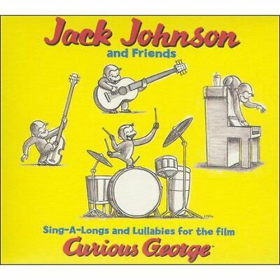 JACK JOHNSON - SING-A-LONG  LULLABIES- CURIOUS GEORGE SOUNDTRACK - CD Curious George Soundtrack