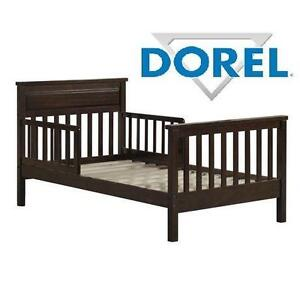 NEW DOREL BABY RELAX TODDLER BED - 108719533 - ESPRESSO - HAVEN