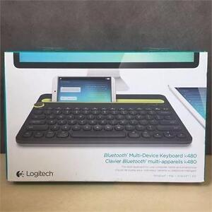 Logitech Bluetooth Multi-Device Keyboard K480 for Computers, Tablets, Phones; REFURBISHED