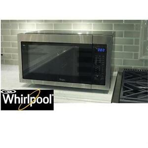 NEW*WHIRLPOOL 1.6 CU. FT. MICROWAVE COUNTERTOP MICROWAVE - BLACK AND ...