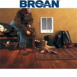 NEW BROAN ELECTRIC WALL HEATER 16-13/32 in. x 20-19/64 in. 4,000 W HIGH CAPACITY WALL HEATER IN WHITE  83067290