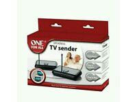 Wireless TV sender