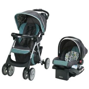 Graco Click Connect Travel System - Stroller Car seat BRAND NEW