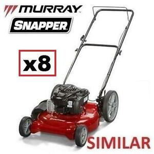 8 AS IS GAS LAWN MOWERS UNINSPECTED - 119575244 - HIGH WHEEL MOWERS LAWNMOWER LAWNMOWERS CUTTING LANDSCAPING GRASS LA...