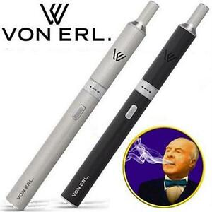 2 NEW ASSTD VON ERL S1 PREM E-CIGS E CIGARETTE - SMOKING - VAPORIZER - PREMIUM - 1 SILVER 1 BLACK