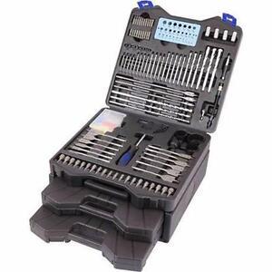 400 PC PLATINUM EDGE DRILL-BIT KIT WITH WHEELS NEW