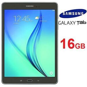 "REFURB SAMSUNG GALAXY TAB A 9.7"" WIFI TABLET - 16GB - SMOKY TITANIUM - 1  79252558"