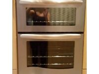 Built-in double oven and grill 60cm x 890