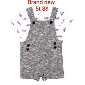 Toddler boy 2pc clothing with tags