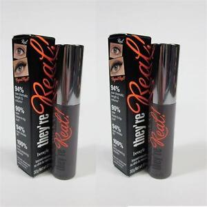 2 NEW BENEFIT MINI MASCARAS 3g THEY'RE REAL! - BEYOND MASCARA - MAKEUP - EYES - BEAUTY - TRAVEL SAMPLE SIZE