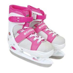 Brand New Schwinn Adjustable Skates - Y12-2, Pink and White