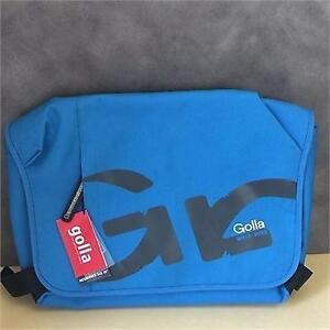 NEW, Genuine Golla G1438 Fanta Blue 16 Laptop Bag Messenger Style