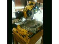 Dewalt dw743n flipover saw