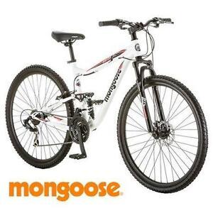 NEW* MONGOOSE 29 INCH MEN'S BIKE MONGOOSE 29 INCH LEDGE 3.5 MOUNTAIN BIKE BICYCLE 21 SPEED 104596328