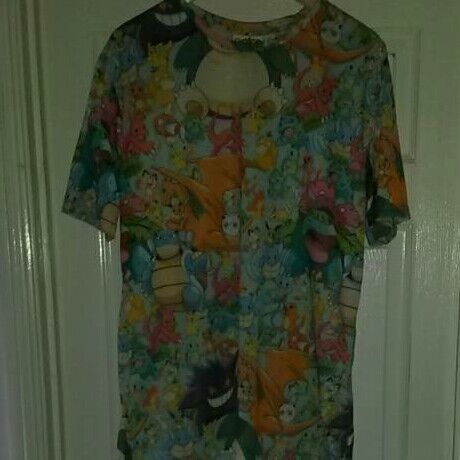 Pokerman design t shirt size large. Ideal for pokerman fans. New with tags