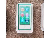 Ipod nano 7th Generation Green - In like new condition