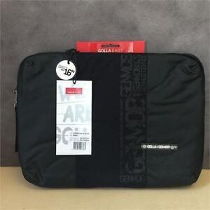 "NEW, Genuine Golla G1316 16"" Laptop Sleeve (Black)"