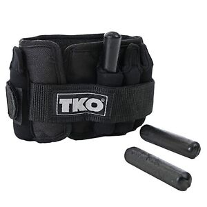 TKO Adjustable Ankle Weights - Pair of 5 lbs AWAWA050TKO