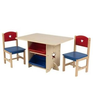 Kidscraft table with chairs