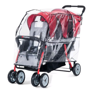 In Search Of Double Stroller Rain Cover