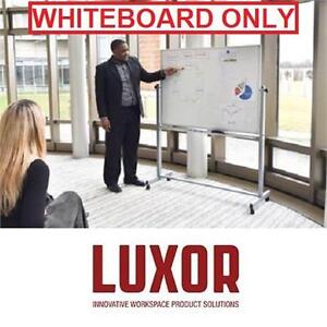 "NEW* LUXOR REPLACEMENT WHITEBOARD - 113422572 - DOUBLE SIDED 48"" x 36"" BOARDROOM WHITEBOARDS TEACHING PRESENTATION BU..."