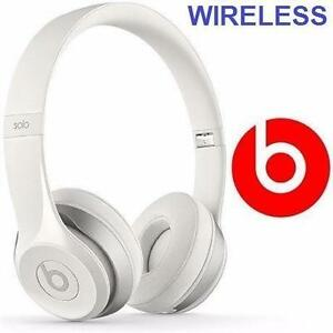 REFURB BEATS SOLO2 HEADPHONES   WIRELESS - SOLO 2 - ON EAR WIRELESS - WHITE AUDIO EARHPHONES  96314008