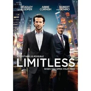 Limitless DVD Movie. Own your own copy now Kingston Kingston Area image 1