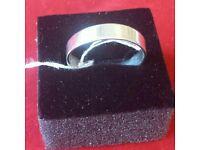 Silver ring size O half