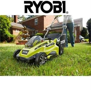 "NEW* RYOBI 16"" 40 V LAWN MOWER BARE TOOL - BATTERY AND CHARGER SOLD SEPARATELY GRASS CUTTING LAWNMOWER"