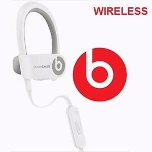 REFURB BEATS POWERBEATS2 HEADPHONES IN-EAR HEADPHONES WIRELESS WHITE POWERBEATS 2 REFURBISHED ELECTRONICS AUDIO 97488886