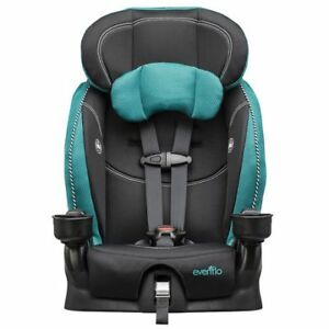 Booster car seat evenflo