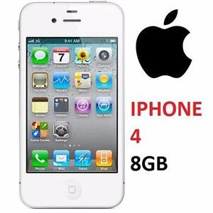 NEW APPLE IPHONE 4 8GB LOCKED WHITE - CELL PHONE - SMARTPHONE SMART PHONE 74767181