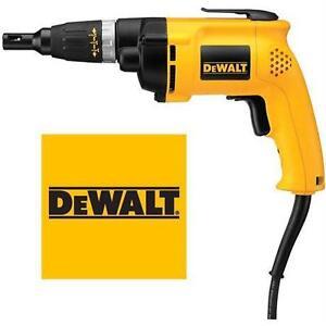 NEW DEWALT ALL PURPOSE SCREW GUN 6.2AMP DECK/DRYWALL SCREWDRIVER  Home Improvement › Power Hand Tools
