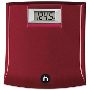 NEW: Red Digital Precision Body Scale (Display pounds only)