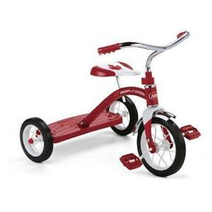 "New Radio Flyer Classic Red 10"" Tricycle: 150th Anniversary (MSRP $69), PICKUP ONLY - DI6"