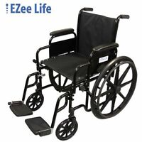 Manual Wheelchair Comes with Foot-rest - Demo Unit - Will Sell!