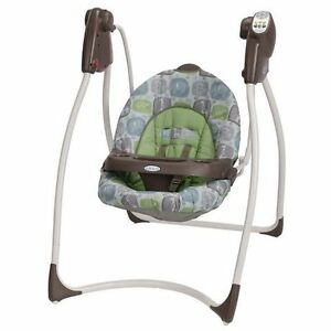 Graco Lovin' Hug baby Infant Swing - Sequoia Theme - BRAND NEW