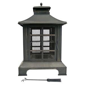 Out Door Chiminea/fire pit