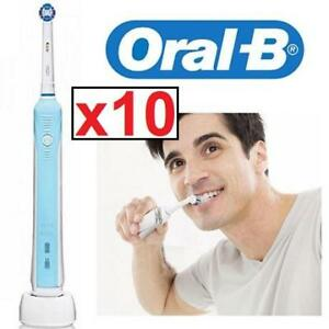 10 NEW ORAL B ELECTRIC TOOTHBRUSH PRECISION 1000 146119188 PRECISION 1000 SENSITIVE GUM CARE TOOTH BRUSH RECHARGEABLE
