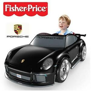 USED* FP PORSCHE KID'S TOY CAR FISHER PRICE RIDE ONMattel Power Wheels Porsche 911 GT3 Ride-on  76856228