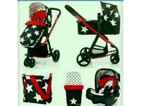 pushchair ,stroller 3-in-1 with carseat