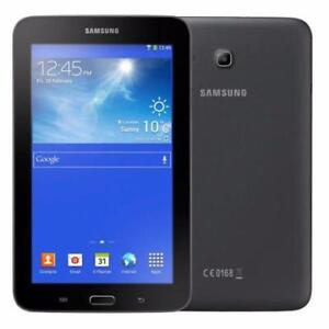 "AUCTION Samsung Galaxy Tab E Lite 7.0"" 8GB Black Wi-Fi SM-T113NYKAXAC - (A1) New Open Box (manual missing)"